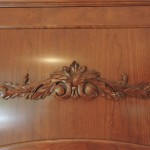 wood cabinet detail