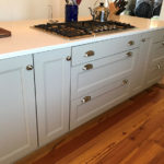 custom kitchen design in charlottesville va closeup view