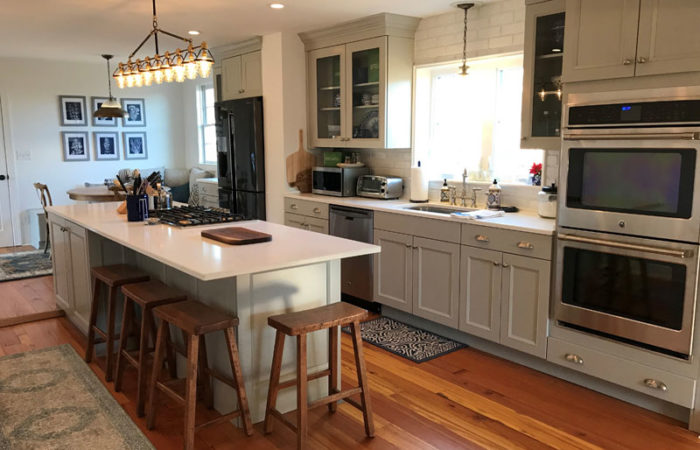 custom kitchen design in charlottesville va