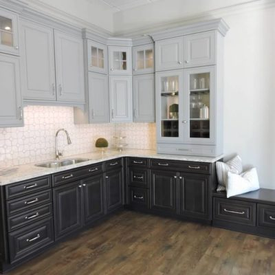 ideal cabinets kitchen display in roanoke, va