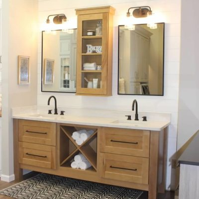 ideal cabinets roanoke virginia showroom bathroom display