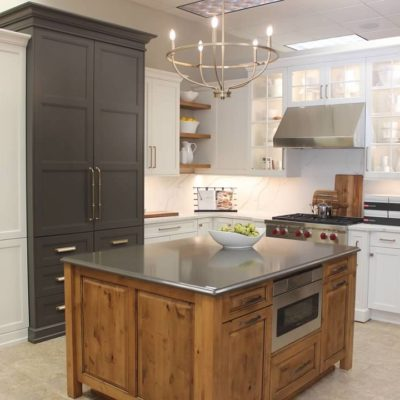 ideal cabinets roanoke virginia showeroom kitchen display
