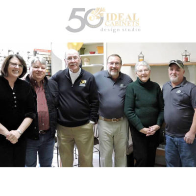 ideal cabinets team members at the christiansburg va kitchen and bath remodeling and design center